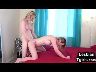Trap Moans Like Crazy When Fucked by Tgirl!
