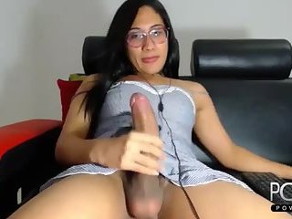 Monstercock sexy shemale