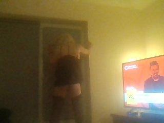 Drunken dance, teasing