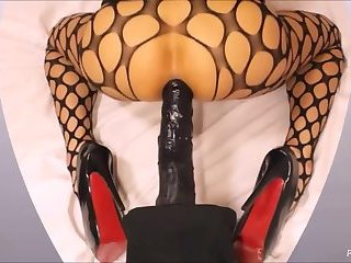 Stacy Anal Homemade Dildo