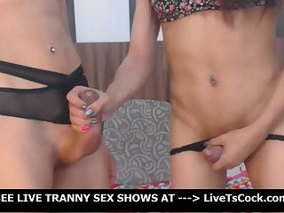 Anal Loving Trannies Fuck Each Other Good