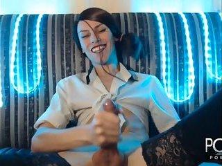 Sexy travesti cumming
