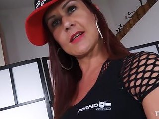 TRANS BELLA - Sexy Latina tranny gets her holes satisfied by two horny Italian guys