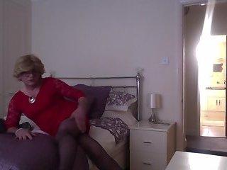 Helen in red