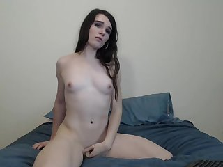 Cute TGurl, Itty Bitty Clitty