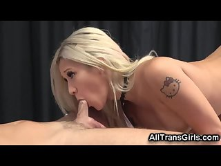 Transsexual Masseuse Fucked Him Good!