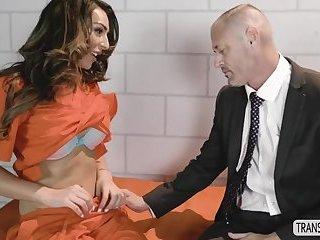 Kinky Tgirl Chanel Santini hot anal doggystyle fuck