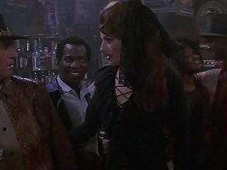 "Episode with a transvestite from the film ""Crocodile Dundee"" (1986)"