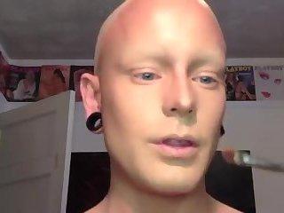 Drag queen transformation