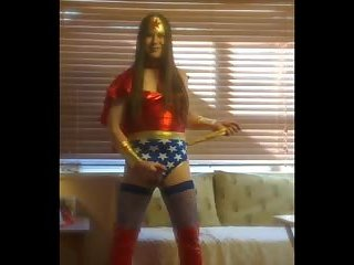 A hot Wonder Woman