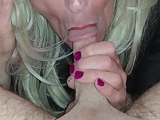 Tgirl blowjob with deepthroat