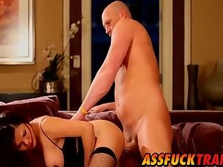 Carmen Moore gets doggy styled by hung hunk Christian
