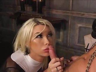 Hot Blonde Shemale Fucking Man