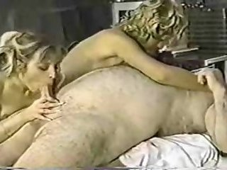 Chef-bear fucking with tranny and girl