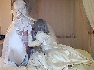 2 crossdresser japanese brides