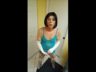sissy roberta gets icy hot punishment