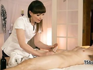 Erotic Shemale massage