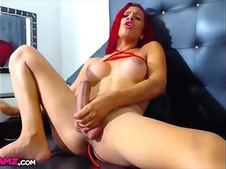 Monstercock redhead latina shemale Webcam