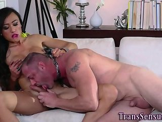 Ts asian jerking dick
