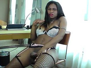 Assfucking ebony ts doggystyles her lover