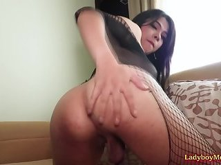 Ladyboy Tata Ass Fucked Bareback