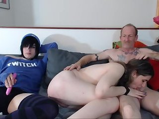 Just family Threesome