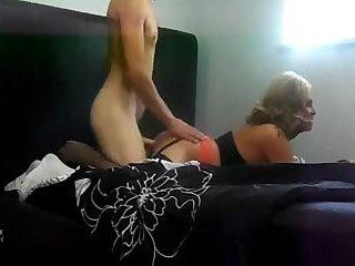 Alexia St James, big white cock (2)