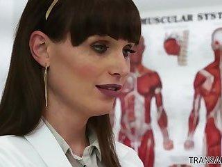 Tranny doctor Natalie Mars