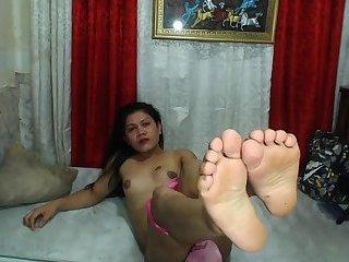Ugly Ladyboy #2 Feet