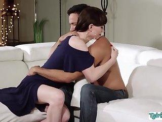 Gabriel Dalessandro demands her TS stepmom Natalie Mars and fucks it