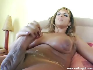 Giant Boobs Strokes and Cums