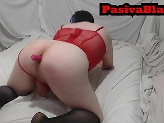 PasivaBlanca Consoling With Her Dildo