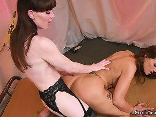 Tranny detective anal bangs big tits Milf