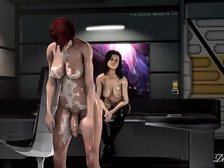 Sci fi animated tranny fantasy