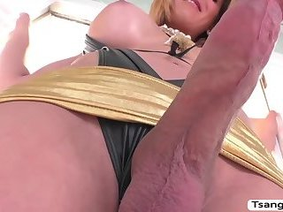 Transbabe Jenna Tales bangs some dudes tight butthole