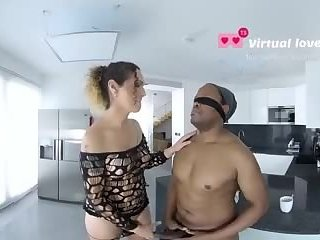 TSVirtuallovers VR - Shemale Interracial Blast