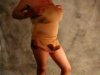 Big Tits and a Dildo
