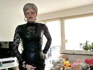 Sissy Sexy Leather Humiliation Fantasy