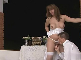 Patricia fucks her husband Alex Victor
