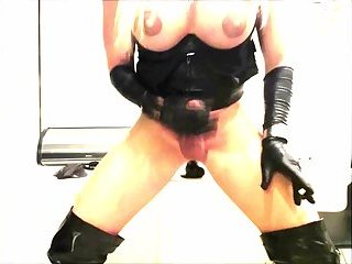 Busty And Big Cock TS Melissa Glamour Amazing Cumshooting