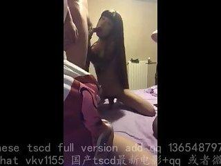 sex chinese trans bitch 4p