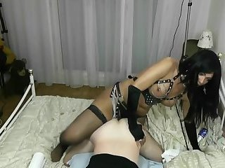 ladyboy in lingerie fuck men hard