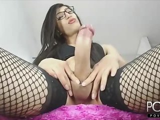 Wow huge dick femboy cumshot webcam