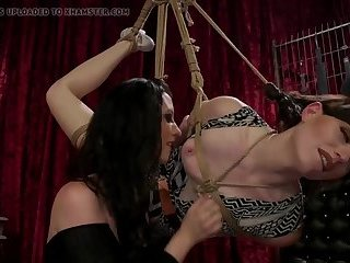 Kinky Natalie Mars welcomes bdsm