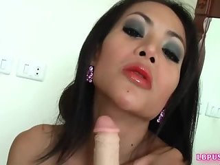 Ladyboy Titiporn Fucks Guy After Dick Sucking