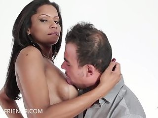 Brazilian brunetta penetrate guy