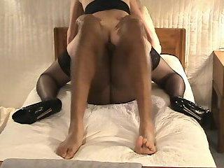 Tawny Preston's Shemale Bareback Creampie Series - Black Cock Encounters II