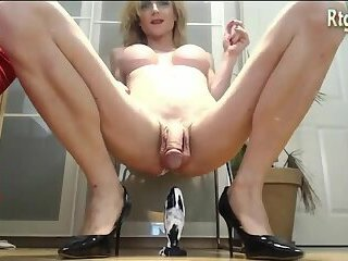 Germany blonde shemale milf anal toy