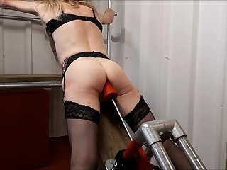 RachelSexyMaid - 13 - Dungeon standing orgasm