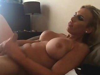 Quick stroking and cum